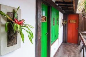Chez Pitu Praia Hotel, Отели  Бузиус - big - 67