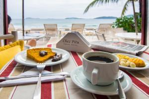Chez Pitu Praia Hotel, Отели  Бузиус - big - 92