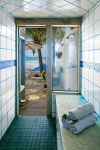 Chez Pitu Praia Hotel, Отели  Бузиус - big - 122