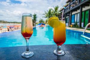 Chez Pitu Praia Hotel, Отели  Бузиус - big - 62