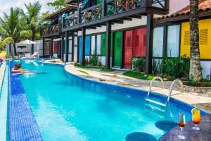 Chez Pitu Praia Hotel, Отели  Бузиус - big - 61