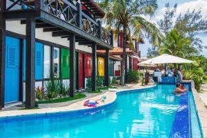 Chez Pitu Praia Hotel, Отели  Бузиус - big - 60