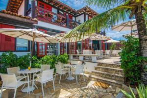 Chez Pitu Praia Hotel, Отели  Бузиус - big - 83