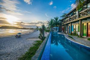 Chez Pitu Praia Hotel, Отели  Бузиус - big - 110