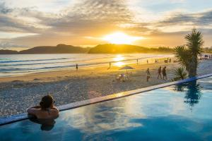 Chez Pitu Praia Hotel, Отели  Бузиус - big - 1