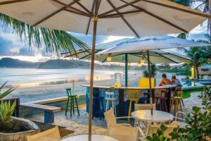 Chez Pitu Praia Hotel, Отели  Бузиус - big - 113