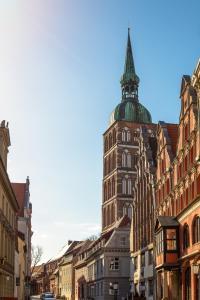 Altstadt Hotel Peiß, Hotely  Stralsund - big - 34