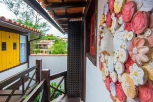 Chez Pitu Praia Hotel, Отели  Бузиус - big - 114