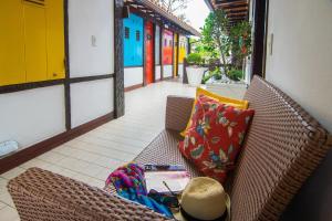 Chez Pitu Praia Hotel, Отели  Бузиус - big - 76