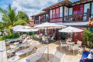 Chez Pitu Praia Hotel, Отели  Бузиус - big - 64