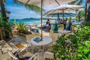 Chez Pitu Praia Hotel, Отели  Бузиус - big - 117