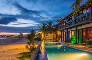 Chez Pitu Praia Hotel, Отели  Бузиус - big - 118