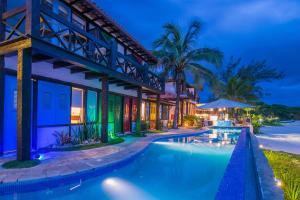 Chez Pitu Praia Hotel, Отели  Бузиус - big - 119