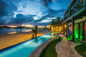 Chez Pitu Praia Hotel, Отели  Бузиус - big - 120