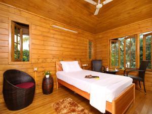 Woodhive Serviced Villa, Дома для отпуска  Kakkanad - big - 14