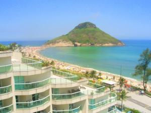 Flats com vista no Recreio, Апарт-отели  Рио-де-Жанейро - big - 7