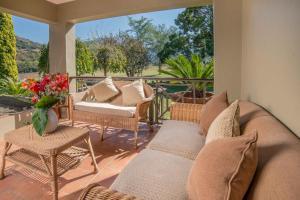 Suite com Vista Jardim