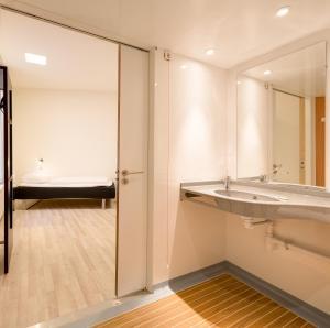 Enkeltværelse med eget bad