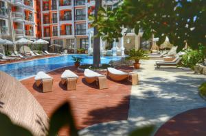 Harmony Palace, Aparthotely  Slunečné pobřeží - big - 48