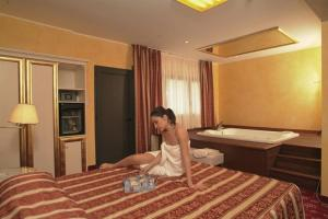 Hotel Riz B.B, Hotely  San Genesio ed Uniti - big - 15