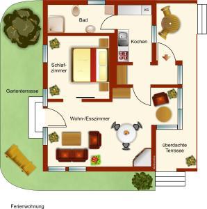 Ferienhaus Giesela, Prázdninové domy  Wernigerode - big - 6