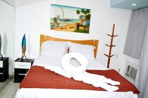 Costeira Praia Apartamento, Ferienwohnungen  Natal - big - 14