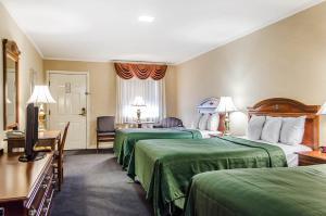 Deluxe Room with Three Double Beds - 1st floor