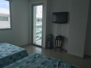 Morros Vitri Suites Frente al Mar, Apartmány  Cartagena de Indias - big - 27