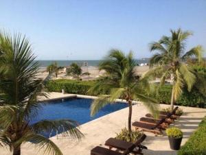 Morros Vitri Suites Frente al Mar, Apartmány  Cartagena de Indias - big - 42