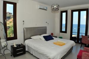 Beach Villa Pantheon, Vily  Pomos - big - 53