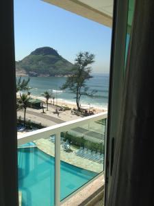 Flats com vista no Recreio, Апарт-отели  Рио-де-Жанейро - big - 15