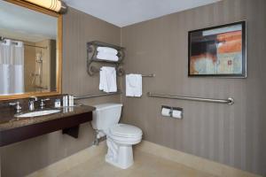 """Номер с кроватью размера """"king-size"""" и ванной - Для некурящих/для гостей с ограниченными физическими возможностями"""