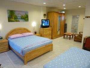 Sun Moon Star Hostel, Проживание в семье  Budai - big - 3