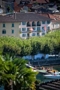 Albergo Carcani, Hotely  Ascona - big - 23