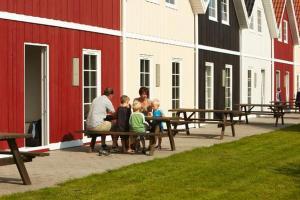 Ho Three-Bedroom Apartment 05, Dovolenkové parky  Blåvand - big - 51