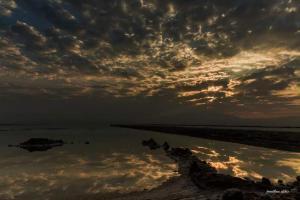 Rose Dead Sea Neve Zohar, Penzióny  Neve Zohar - big - 66
