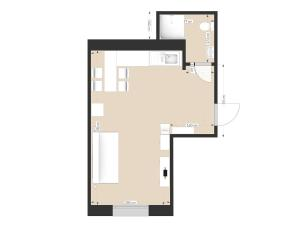 New York Studio Apartment, Apartments  Saint Petersburg - big - 4