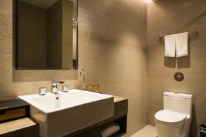 Home Inn Plus Shanghai Pudong Airport Chuangsha Metro Station, Hotely  Šanghaj - big - 6