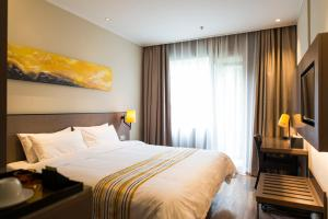 Home Inn Plus Shanghai Pudong Airport Chuangsha Metro Station, Hotely  Šanghaj - big - 11