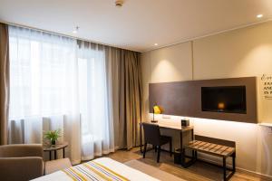 Home Inn Plus Shanghai Pudong Airport Chuangsha Metro Station, Hotely  Šanghaj - big - 19