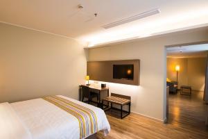 Home Inn Plus Shanghai Pudong Airport Chuangsha Metro Station, Hotely  Šanghaj - big - 24