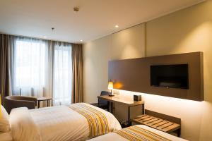 Home Inn Plus Shanghai Pudong Airport Chuangsha Metro Station, Hotely  Šanghaj - big - 25