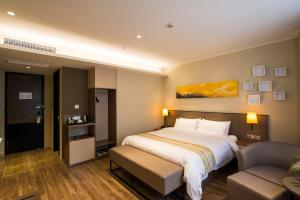 Home Inn Plus Shanghai Pudong Airport Chuangsha Metro Station, Hotely  Šanghaj - big - 26