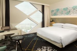 Hilton Amsterdam Airport Schiphol, Отели  Схипхол - big - 6