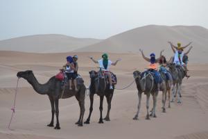 Camel Trek Bivouac, Zelt-Lodges  Merzouga - big - 20