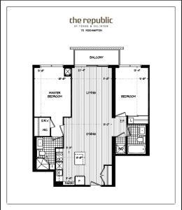 Republic on Roehampton Avenue - Furnished Apartments, Apartments  Toronto - big - 2