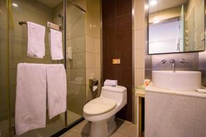 Motel Shanghai Xincun Road Metro Station Ganquan Park, Hotel  Shanghai - big - 14