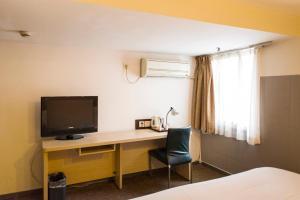 Motel Shanghai Xincun Road Metro Station Ganquan Park, Hotel  Shanghai - big - 4