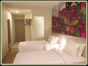 Двухместный номер «Солнечный день» c 1 кроватью или 2 отдельными кроватями