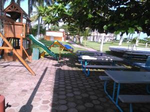 Hotel y Balneario Playa San Pablo, Отели  Monte Gordo - big - 166